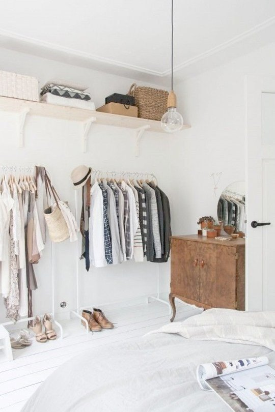 clothing storage ideas for small bedrooms superior clothes storage ideas for small bedroom 11 ways to squeeze QNCDHCC