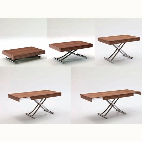 coffee table that converts to dining table folding coffee dining table WFYFGJL