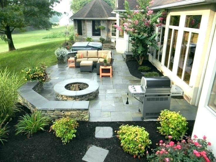 concrete patio ideas for small backyards backyard concrete within amazing backyard SKGTRCD