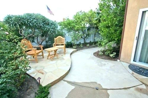concrete patio ideas for small backyards home design a patios back WNRPEUF