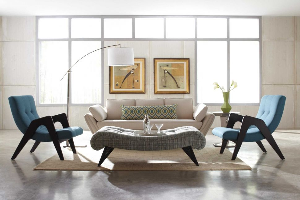 Beautiful Contemporary Accent Chairs for Living Room