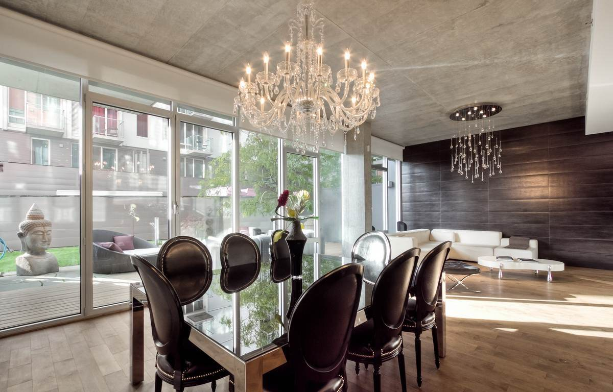 contemporary chandeliers for dining room contemporary crystal chandelier dining room DWQCDBH