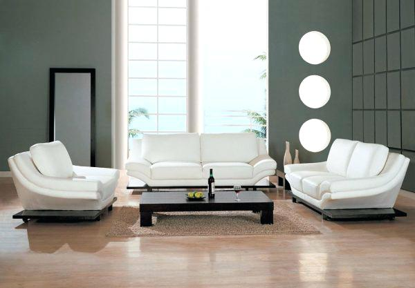 contemporary leather living room furniture amusing white leather living  room UJXYVTR