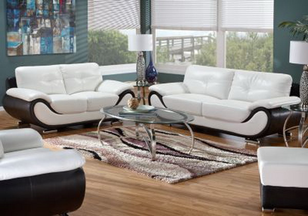 Classy Contemporary Leather Living Room Furniture