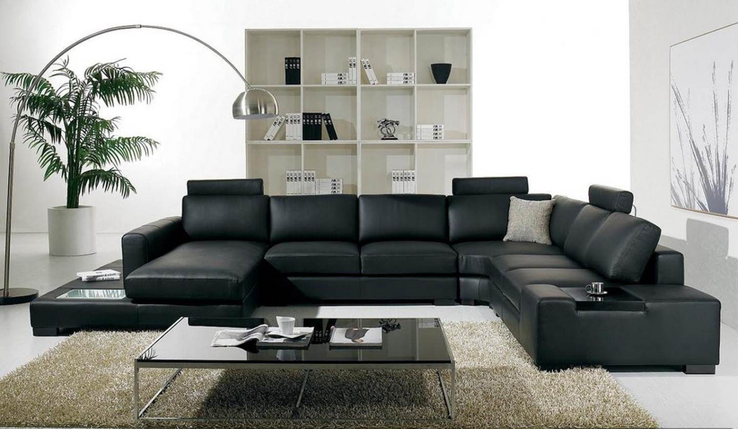 contemporary leather living room furniture trendy black living room furniture sets 16 modern leather collections NXCFOAR