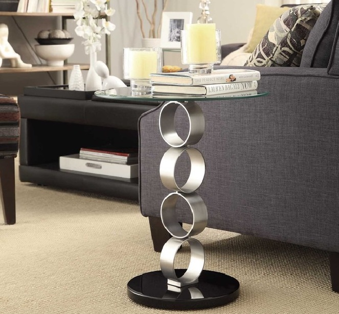 contemporary side tables for living room awesome glass side tables for SPPEWVK