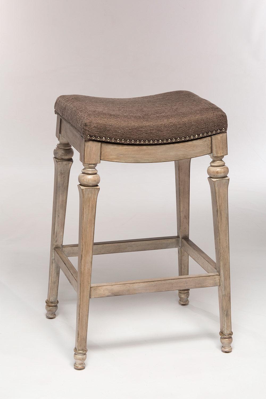 counter height backless swivel bar stools hillsdale vetrina backless non-swivel counter stool - weathered gray - NBMGXAR