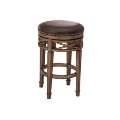 counter height backless swivel bar stools manchester swivel bar height backless bar stool (30 BZGVXPN
