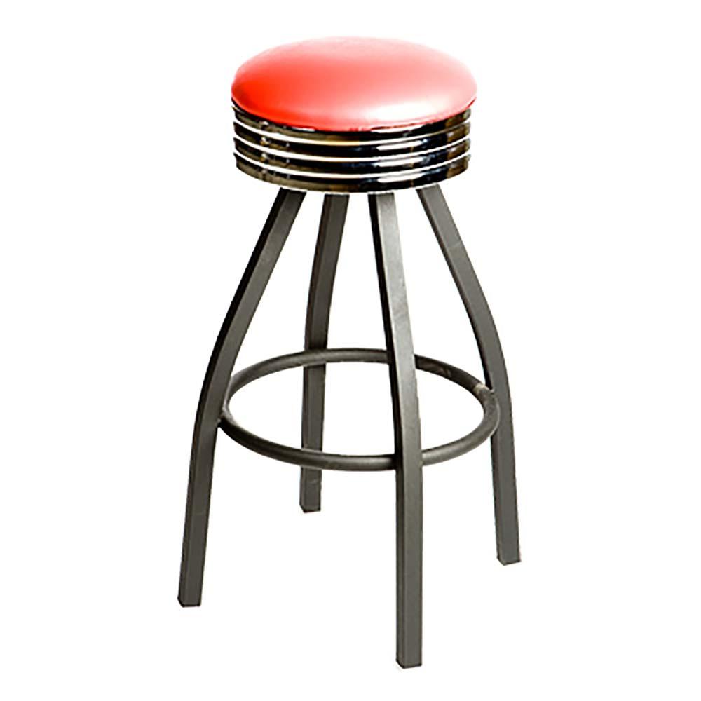 counter height backless swivel bar stools oak street sl1137-red - swivel bar stool, counter height, backless, FHKTDHW