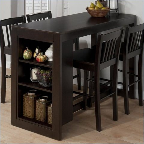 counter height dining table with storage NDRZNPA