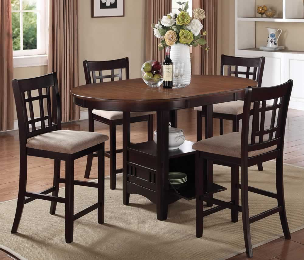 counter height dining table with storage oval storage counter height dining table with extension u0026 4 XCIQNMT
