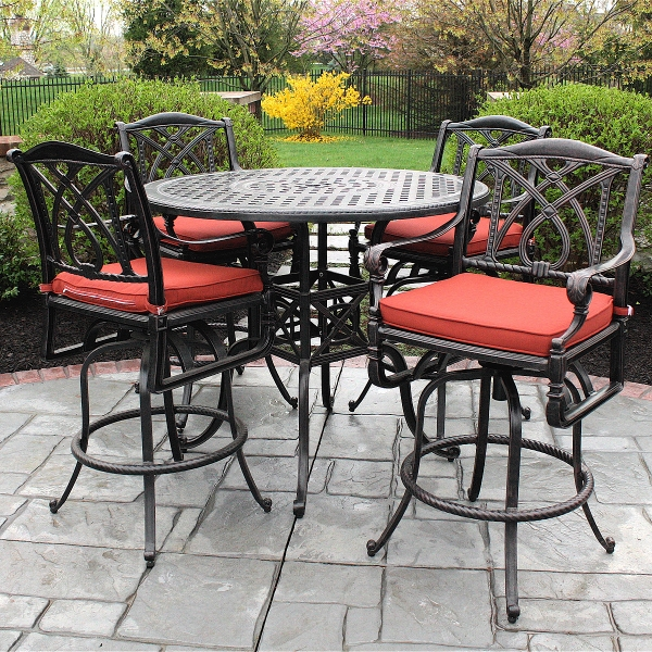 counter height outdoor table and chairs decoration: lovable bar height outdoor dining table high dining outdoor BYJIKSX