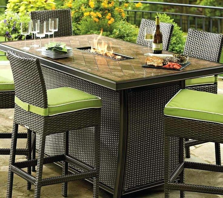 counter height outdoor table and chairs outdoor bar height table and chairs furniture popular of counter RVSENEE