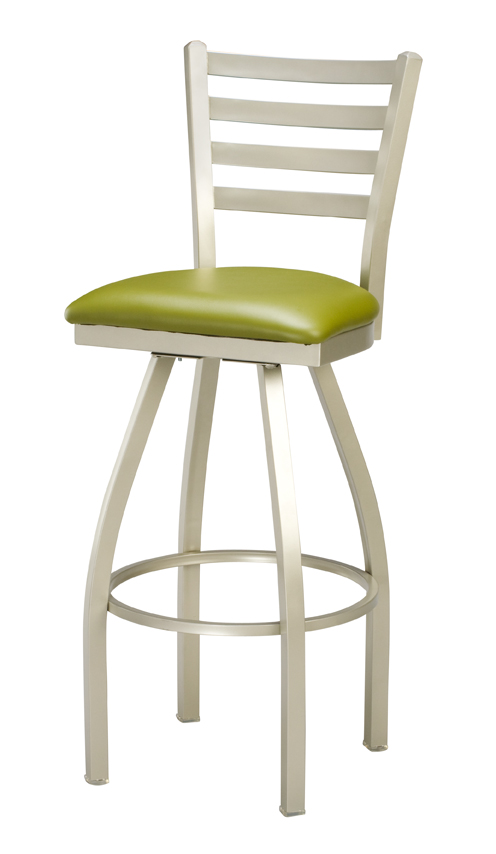 counter height swivel bar stools with backs regal seating series 3516 counter height ladder back commercial swivel YXPTUFJ