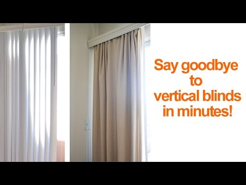 curtains for sliding glass doors with vertical blinds engineer your space with isabelle larue s1 - e15 YOPNTXQ