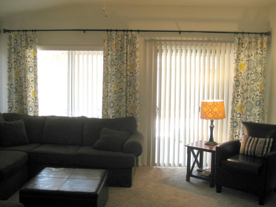 curtains for sliding glass doors with vertical blinds sliding glass door curtain ideas with vertical blind LHNVWWK