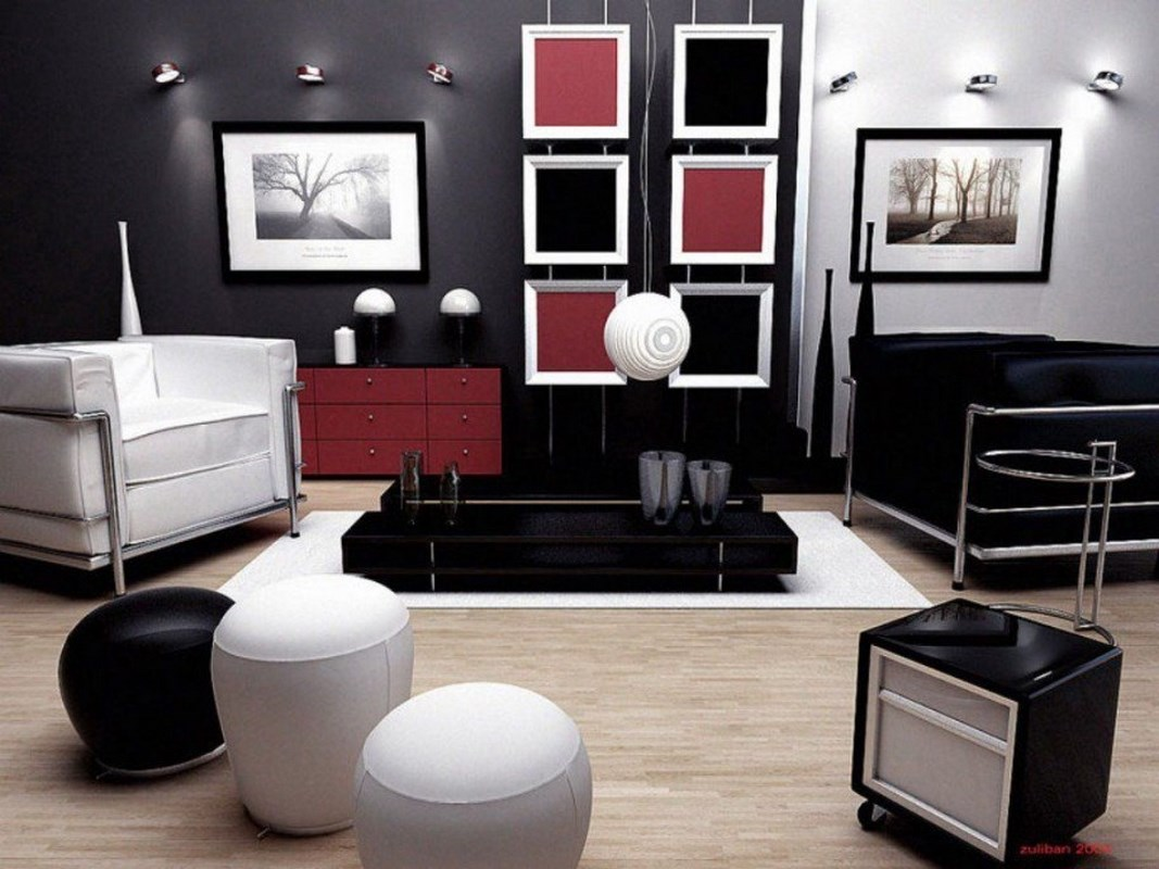 decorating with black furniture in the living room lapalettecremolane.com/wp-content/uploads/2016/09/... BYMIRQE