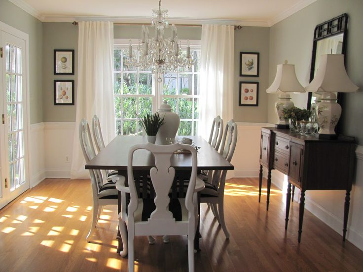 dining room color ideas for a small dining room dining room paint colors with chair rail - google search DXZJGRN