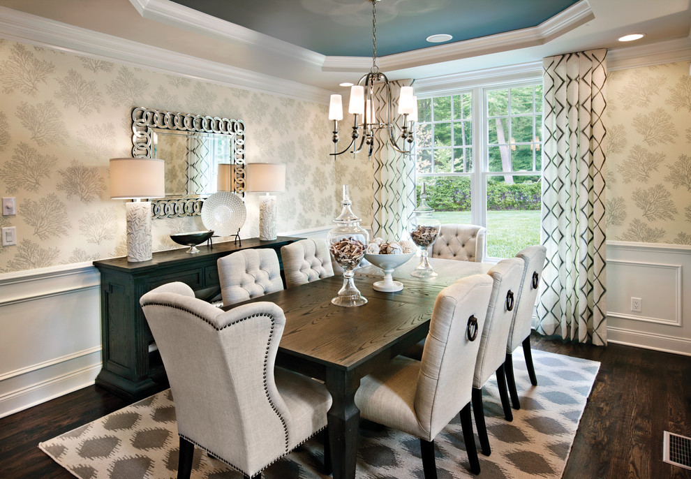 dining room sets with upholstered chairs incredible glamorous formal dining room set with tufted upholstered chairs WLPZZHS