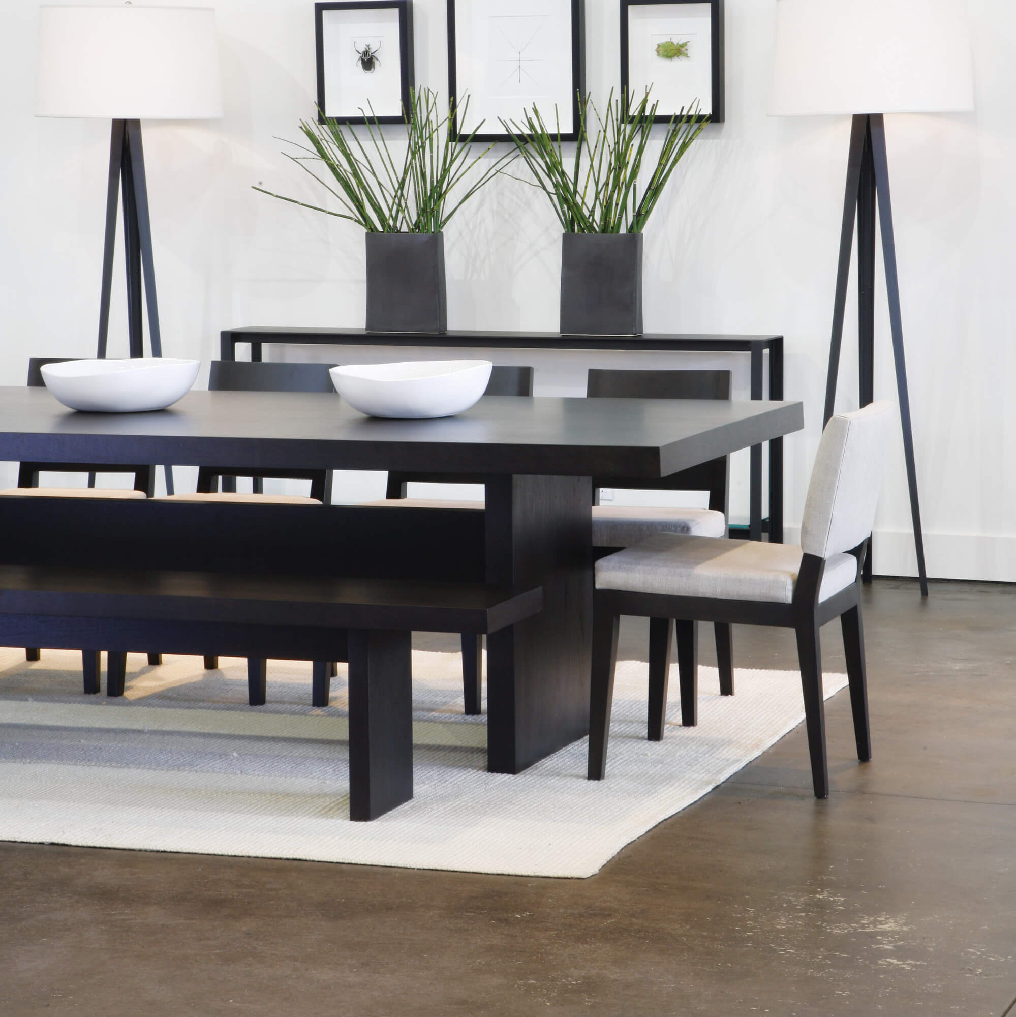 dining room table with bench and chairs 5 piece modern dining room set with bench. this is WRTENWW