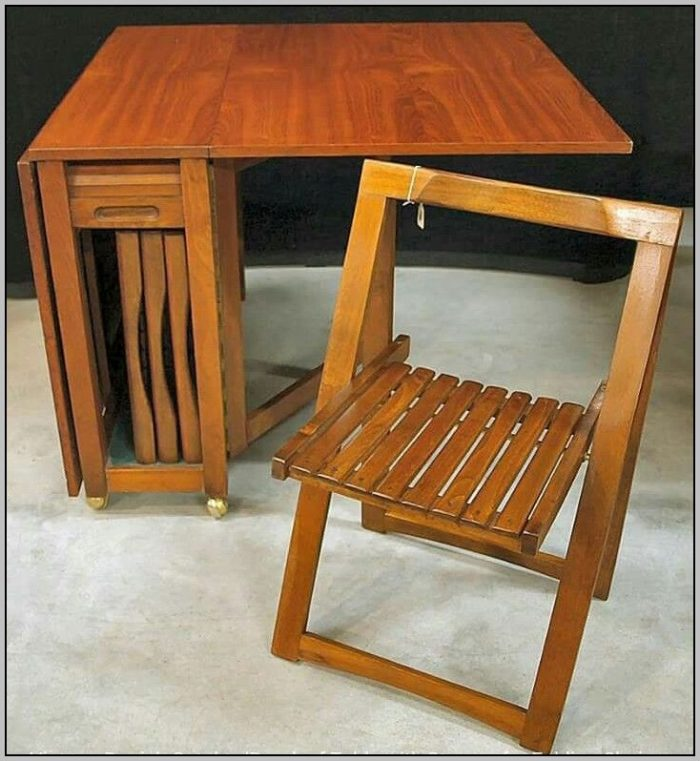 drop leaf table with folding chairs stored inside appealing drop leaf table and folding chairs drop leaf table XNJAGRV