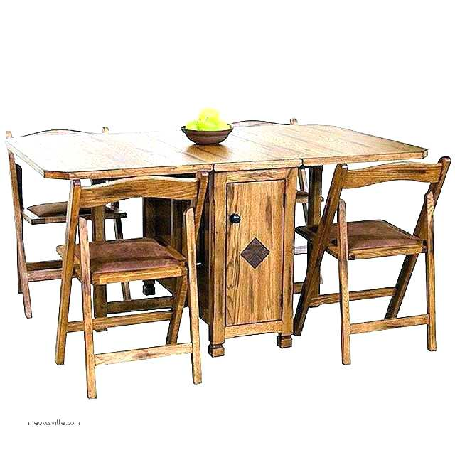 drop leaf table with folding chairs stored inside drop leaf table with storage kitchen good chair under . CMISNQP