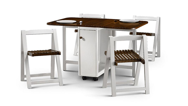 Drop Leaf Table With Folding Chairs Stored Inside: Uses and Benefits