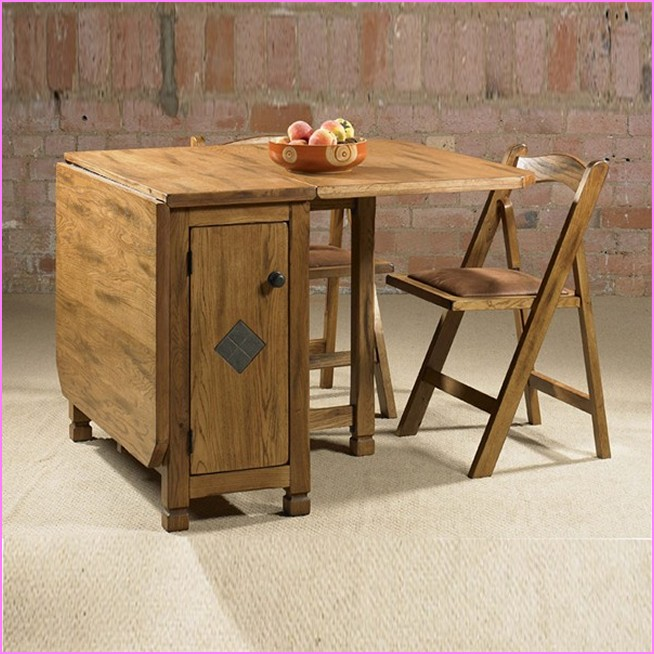 drop leaf table with folding chairs stored inside outstanding drop leaf table with chair storage drop leaf table FYXGJYC