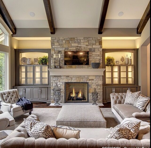 The Best Family Room Design Ideas With Fireplace for Your Home
