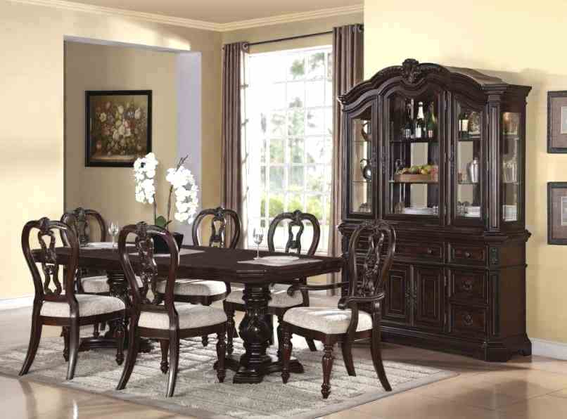 formal dining room sets with china cabinet dining room sets with hutches set chateau formal dining room JSFRBRQ