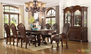 Formal Dining Room Sets With China Cabinet: Set an Impression Right