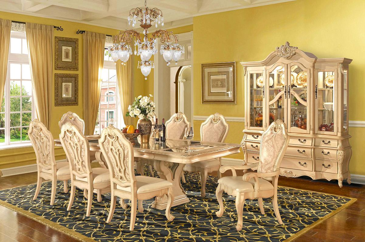 formal dining room sets with china cabinet YGASIBQ