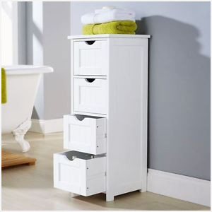 free standing bathroom cabinets with drawers white floor standing bathroom cabinet » comfy shaker style 4 WIFGQWO