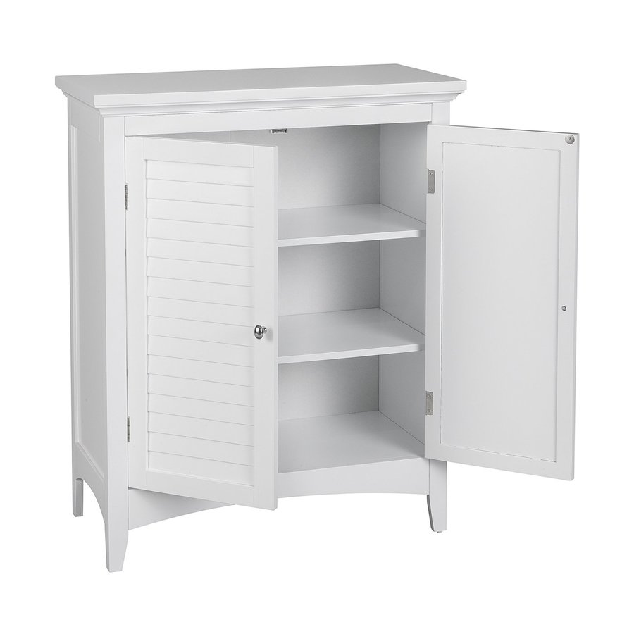 free standing linen cabinets for bathroom elegant home fashions slone 26-in w x 32-in h x UMEUGBD