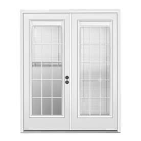 french doors with blinds between the glass display product reviews for 71.5-in x 79.5-in blinds between the GWQWQTO