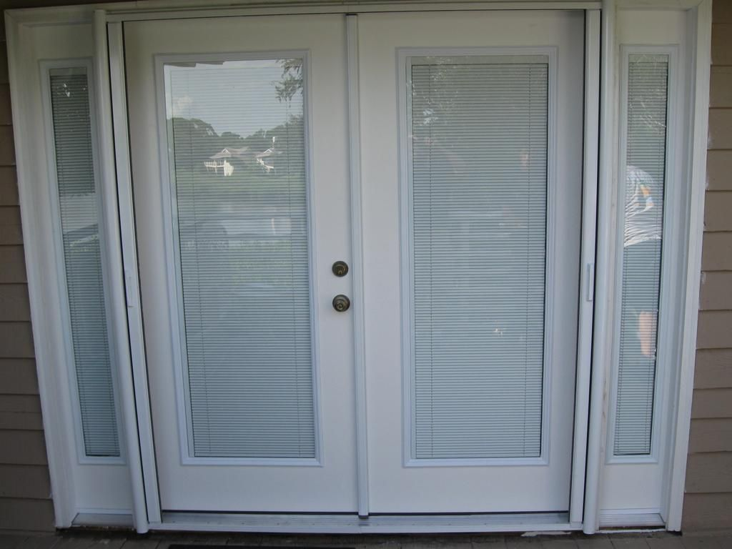 french doors with blinds between the glass door blinds between glass | custom french doors w interior BWYGCPO
