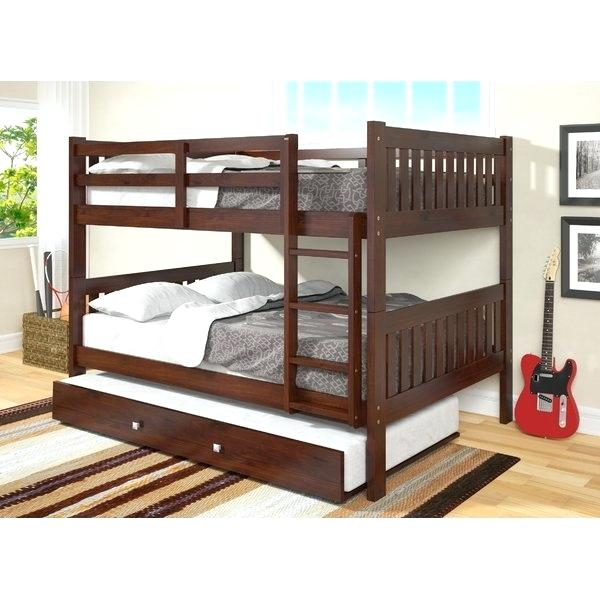 full over full bunk beds with trundle and stairs bunk bed with trundle bunk beds with trundle kids full VNZXGFC