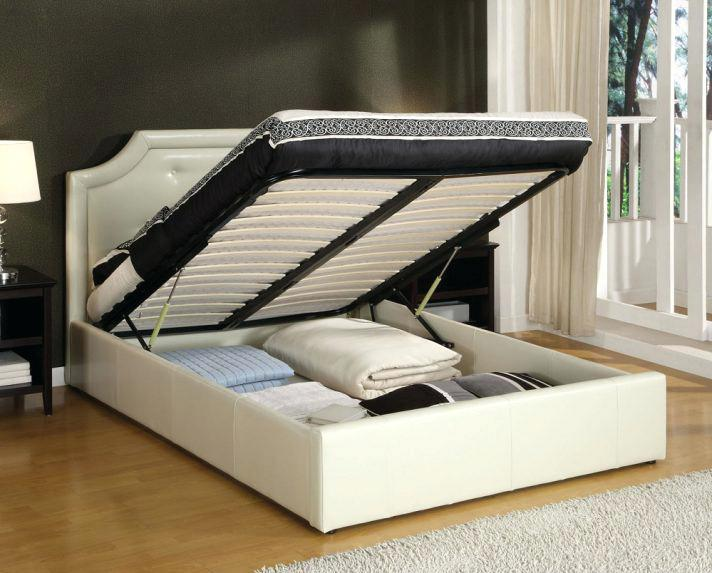 New Full Size Platform Bed Frame with Headboard