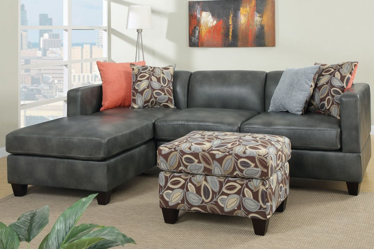 great charcoal gray sectional sofa with chaise lounge 81 in sofa HFXPDEG