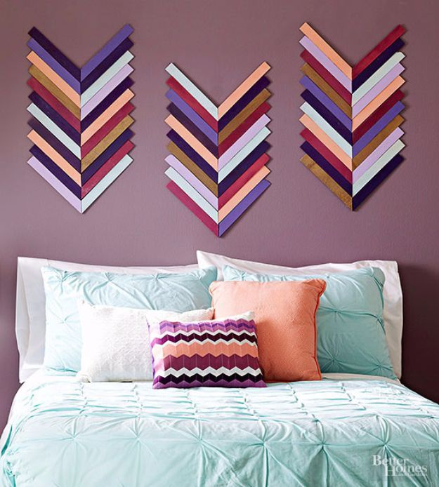 homemade wall decoration ideas for bedroom 76 brilliant diy wall art ideas for your blank walls VDTWRZJ
