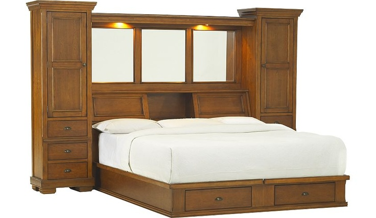 king size headboard with storage and lights beds with bookcase headboards on pinterest headboard king throughout for SFNVRIG