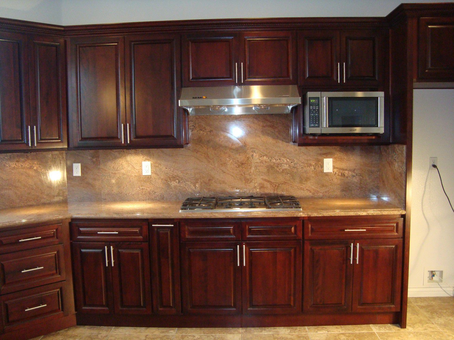 kitchen color schemes with cherry cabinets high end bar stools for kitchen island colors light wood JFIVFAH