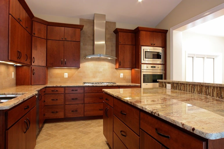 kitchen color schemes with cherry cabinets interior granite countertop colors for cherry cabinets marvelous ZGIGGVJ
