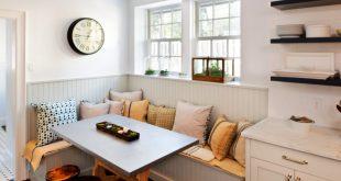 kitchen corner bench seating with storage MHIHRDJ