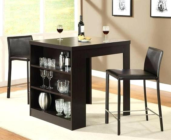 kitchen table and chairs for small spaces dining tables for small spaces table with storage shelf home CPRNXTK