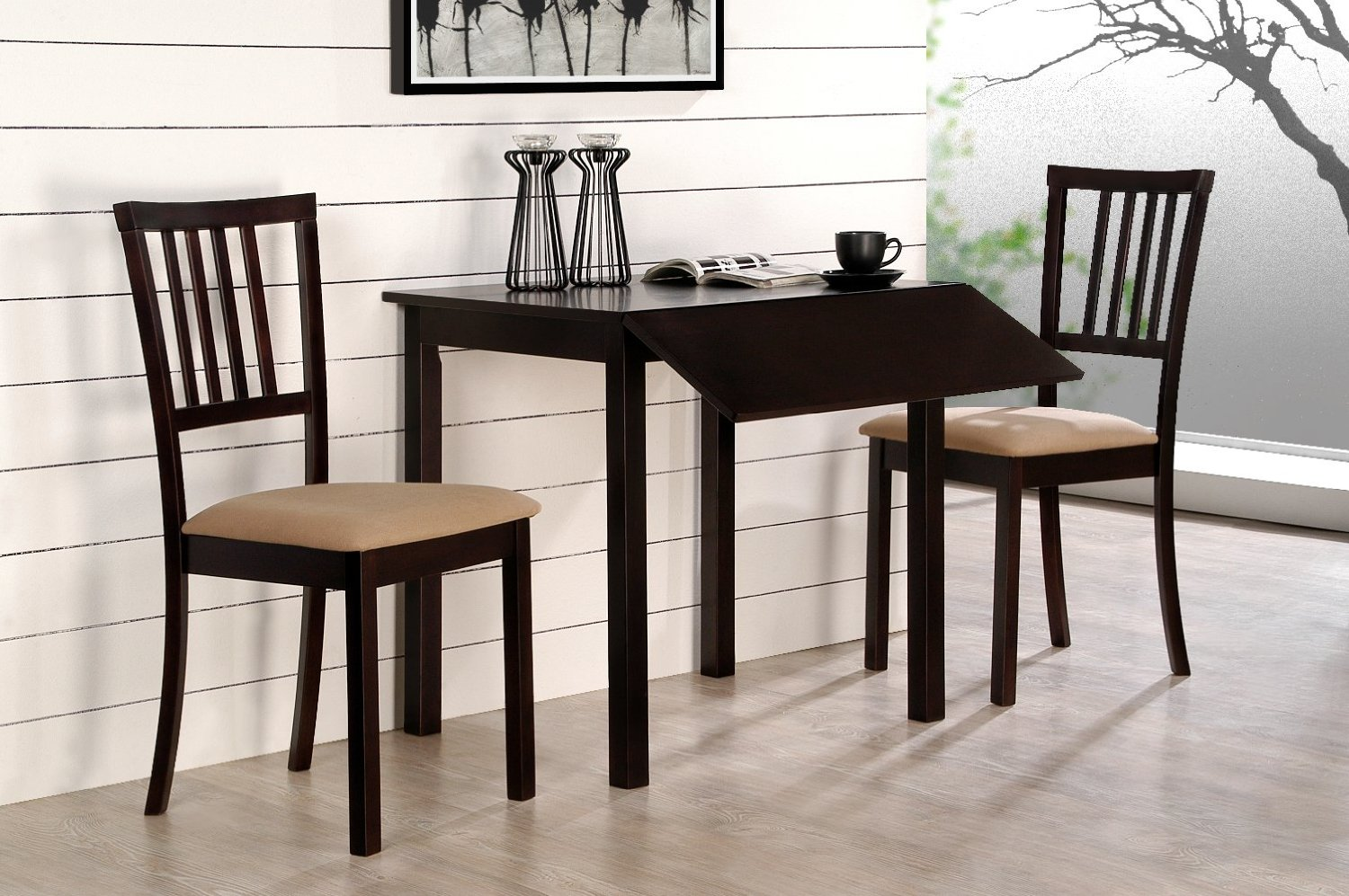 kitchen table and chairs for small spaces narrow kitchen table set 3d house drawing u2022 rh bdcloud OBXRZAL