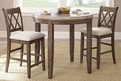 kitchen table and chairs for small spaces tall tables MGATYHE