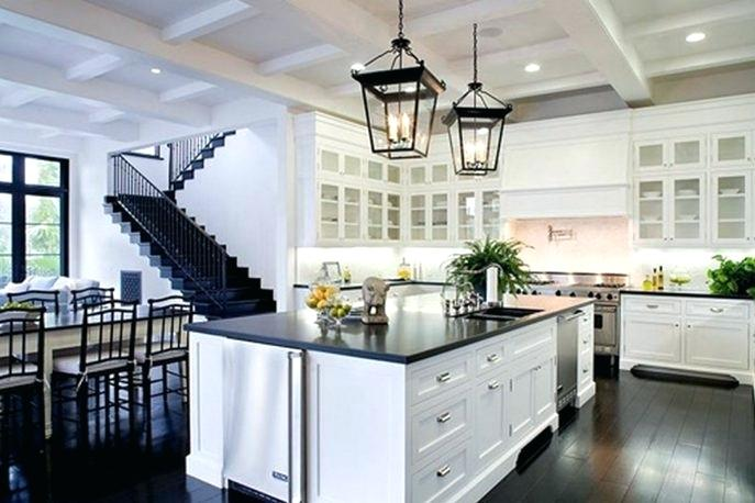 kitchens with white cabinets and dark floors white kitchen cabinets with dark floors large size of kitchen HJZEQKC