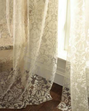 Lace Sheer Curtains dian austin couture home cameo lace curtain ... HFNADJO