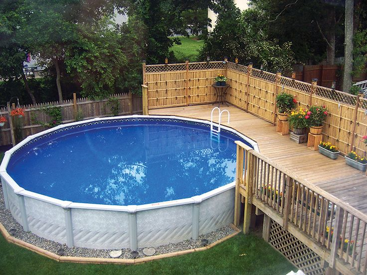 landscaping ideas around above ground pool 10 amazing above ground pool ideas and design | swimming BPXAMGN
